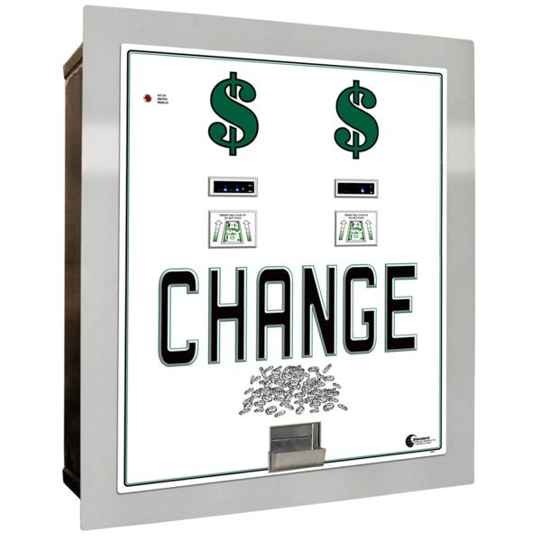 MC-620RL-DA Standard Change-Maker- Dual Bill To Coin Changer/Built in Auditing