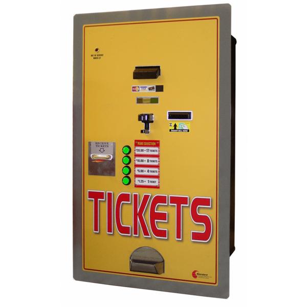 MC-550RL-Cash to Ticket Dispensing   Rear Load Ticket Dispenser
