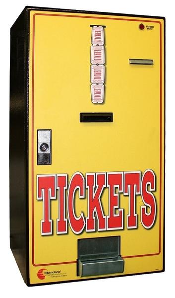 MC-200-TIK Standard Change-Maker- Bill to Ticket Changer Audit & Programming   Front Load Ticket Dispenser