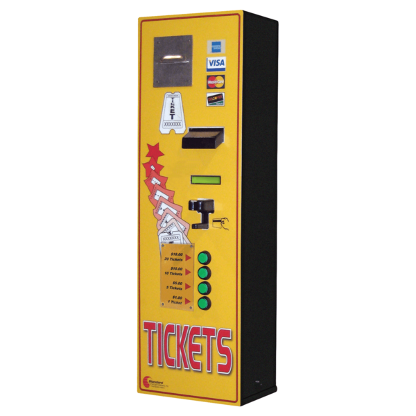 MC350RL-CC Credit Card to Ticket Machine, Credit Cards Only