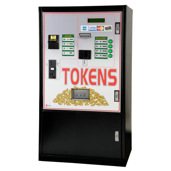 MC940-CC Tokens From Cash, Credit Card, Token Change Machine