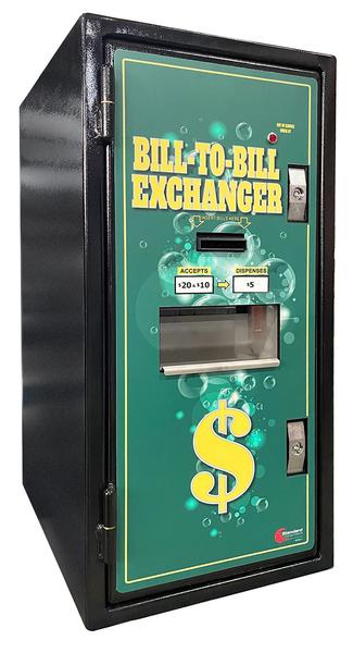BX-1010FL Standard Change-Make (1) Denomination Bill to Bill Changer / Dispenser