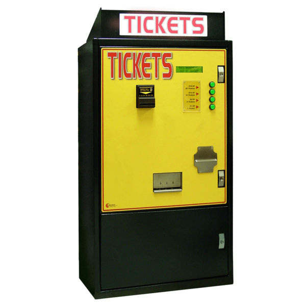 Front Load / 1  Ticket Dispensers Stand Alone | Front Load Ticket Dispenser