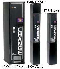Image Bill to Coin Changer Front Load
