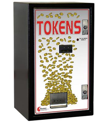 Image Front Load Token Changer-Cash Acceptance Only
