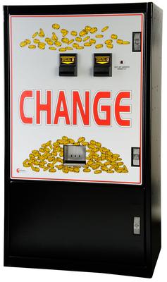 Image MC-940-DA Standard- Dual Bill to Coin Changer Console Stand Alone