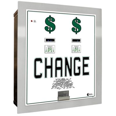 Image MC-630RL-DA Dual Bill to Coin Changer (3) Coin Hoppers
