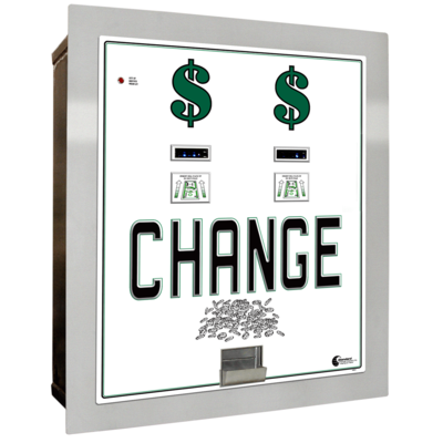 Image MC-640RL-DA Standard - Dual Bill to Coin Changer (4) Coin Hoppers