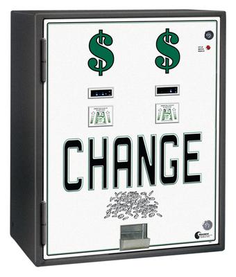 Image MC-830- DA Standard Dual Bill to Coin Changer (3) Coin Hoppers