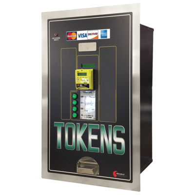 Image MC525RL-CC Credit Card Acceptance, Token Dispensing