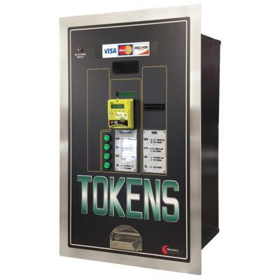Image MC535RL-CC Token Credit Card & Cash to Token Dispenser